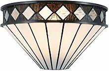 Lumilamp 5LL-5199 Wandlampe Art Deco Tiffany Stil