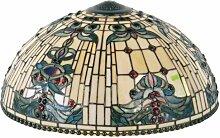 LumiLamp 5LL-5424 Tiffany Stil Lampenschirm Buntes