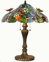 Lumilamp 5LL-5582 Tiffanylampe Tischlampe Tiffany