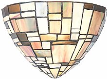 Lumilamp 5LL-5844 Wandlampe Art Deco Tiffany Stil