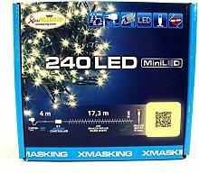 LuminalPark Lichterkette 17 m, 240 Mini LEDs