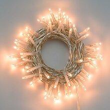 LuminalPark Lichterkette 5,6 m, 80 Mini LEDs extra