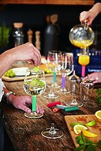 Luminarc 20774 Lumikit Wein-und Sektglas Set,
