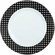 Luminarc 8010486Tiago 6Teller Opal schwarz