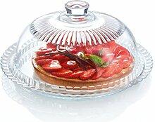 Luminarc Käseglocke/ Tortenglocke aus Glas,