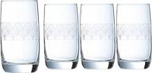 Luminarc Longdrinkglas Paradisio, Glas, mit