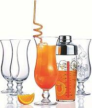 Luminarc, Serie Hurricane, Cocktail-Starter-Set,