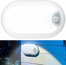 Luminea Deckenlampe: LED-Feuchtraumleuchte,