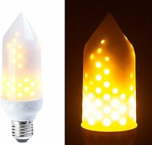 Luminea Flammenlampe: LED-Flammen-Lampe mit
