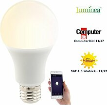 Luminea Home Control Funk Lampe: WLAN-LED-Lampe,