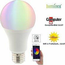 Luminea Home Control WLAN Glühbirne: