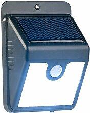 Luminea LED Aussenleuchte: Solar-LED-Wandleuchte