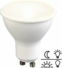 Luminea LED Einbaustrahler GU10: LED-Spot GU10 mit