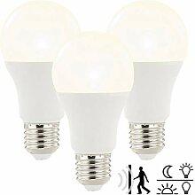 Luminea LED Lampe automaitch: LED-Lampe mit