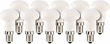 Luminea LED-Lampe mit E14-Sockel: