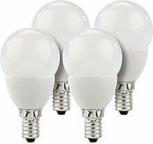 Luminea LED-Lampe mit E14-Sockel: LED-Tropfen,