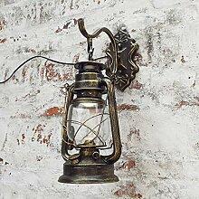 luminousky Wandlampe Neu Käfiglicht Außenlampe