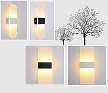 luminousky Wandlampe Neu Würfelraum Schlafzimmer