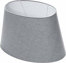 Lumissima–Lampenschirm, oval grau
