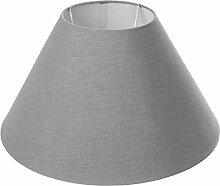 Lumissima 90616Lampenschirm, rund, Grau