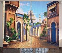 Lunarable City Vorhänge, Ancient Babylon City