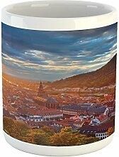 Lunarable Stadtlandschaft Tasse, Heidelberg