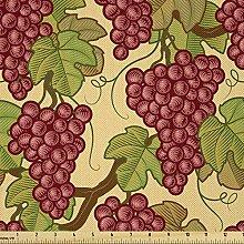 Lunarable Weinrebenstoff von The Yard, Ernte Obst
