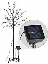 Lunartec Deko Baum: Solar-LED-Lichterbaum mit 120