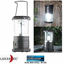 Lunartec LED-Camping-Lampen: Dimmbare
