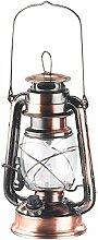 Lunartec LED Petroleumlampe: Dimmbare LED-Sturmlampe mit Akku, bronze, 30 Lumen, 1,2 Watt (LED Öllampe)