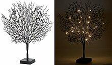 Lunartec Leuchtbaum: Moderner Lichterbaum mit 25