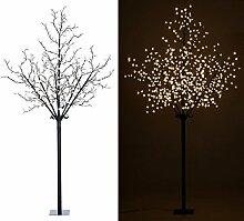 Lunartec Lichterbaum: LED-Deko-Baum mit 600