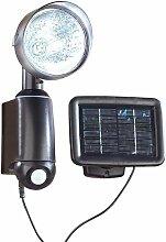 Lunartec Solar Aussenbeleuchtung: Solarstrahler