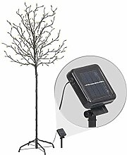 Lunartec Solar Baum: XL-Solar-LED-Lichterbaum mit
