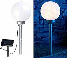 Lunartec Solarkugeln: Solar-LED-Leuchtkugel mit