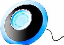 Lunartec Stimmungslampe: LED-Stimmungsleuchte mit Touch-Farbregler und USB-Anschluss (Effektleuchte)