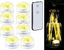 Lunartec Teichbeleuchtung: 8er-Set