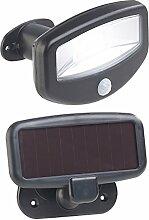 Lunartec Wandlampe: Solar-LED-Strahler,