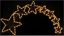 Lunartec Weihnachtsstern: Weihnachtsdeko