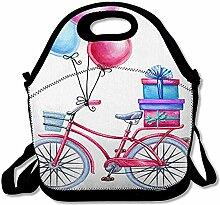 Lunch Bag Fahren Sie Blaue