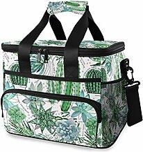Lunch Bag Frauen Natürliche Pflanze Sukkulenten