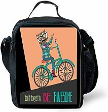 Lunch Bag Tote Boxes Bags Insulated LunchBags