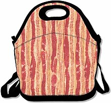 Lunch Bag Tote Boxes Bags Lunch Box Bacon Lunch