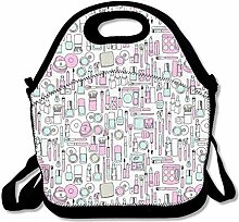 Lunch Bag Tote Boxes Bags Lunch Box Beauty Cooler