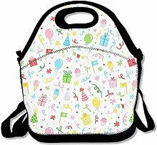 Lunch Bag Tote Boxes Bags Lunch Box Birthday Party