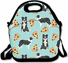 Lunch Bag Tote Boxes Bags Lunch Box Border Collie
