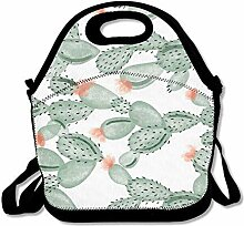 Lunch Bag Tote Boxes Bags Lunch Box Cactus Cooler