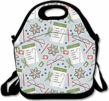 Lunch Bag Tote Boxes Bags Lunch Box Christmas
