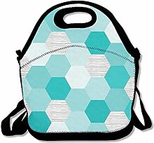 Lunch Bag Tote Boxes Bags Lunch Box Hexagon