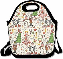 Lunch Bag Tote Boxes Bags Lunch Box Holiday